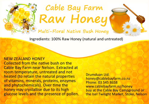 Cable Bay Farm Raw Honey